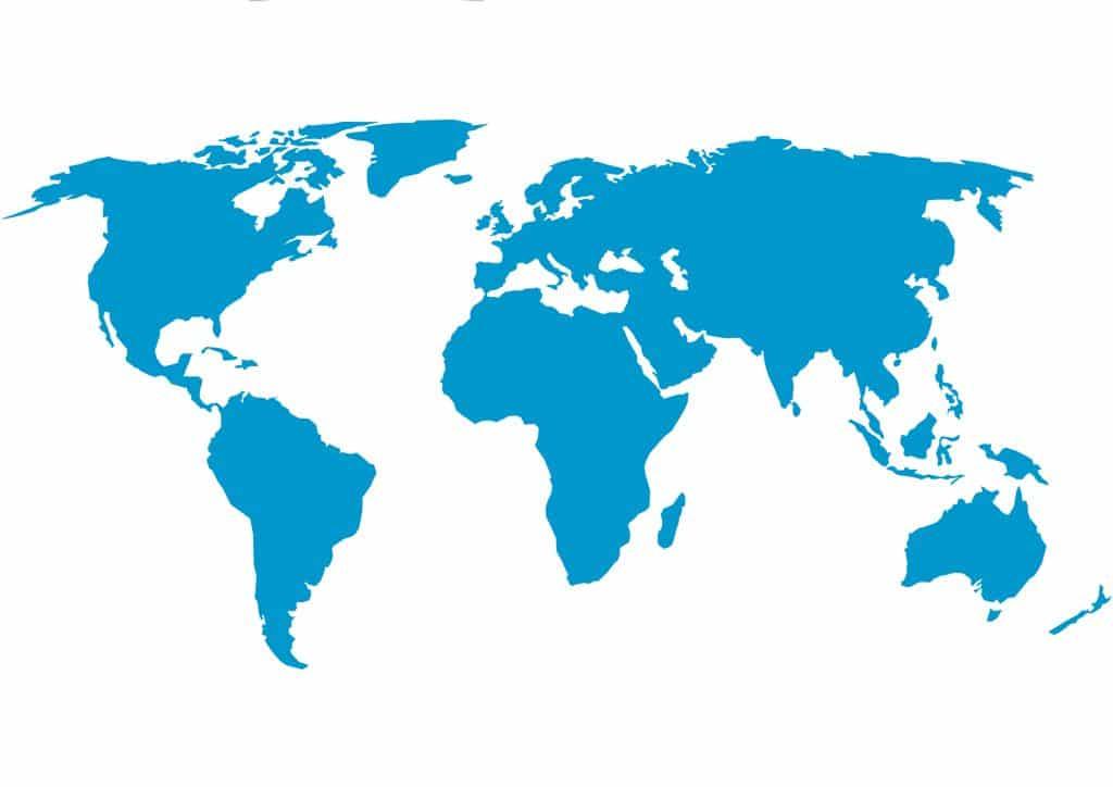 Estudo indica revela novos processos na formação dos continentes da Terra. Imagem: DBHAVSAR/Shutterstock