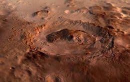 Marte: crosta do planeta pode sustentar vida por meio da radiação