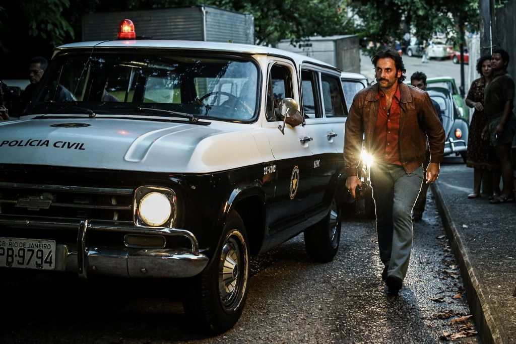 Flavio Tolezani é o policial Victor em 'Dom'. Imagem: Divulgação/Amazon Prime Video