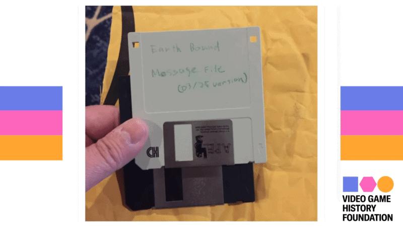 Disquete da Nintendo com segredos de Earthbound é resgatado após 26 anos. Imagem: Divulgação/VGHF