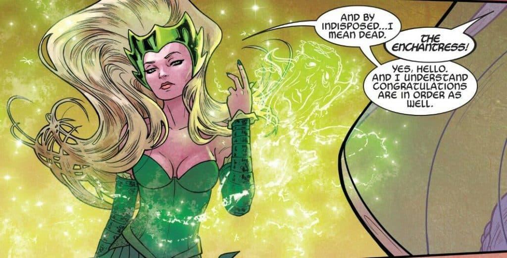 Encantor pode estar na série de 'Loki'. Imagem: Marvel Comics/Reprodução