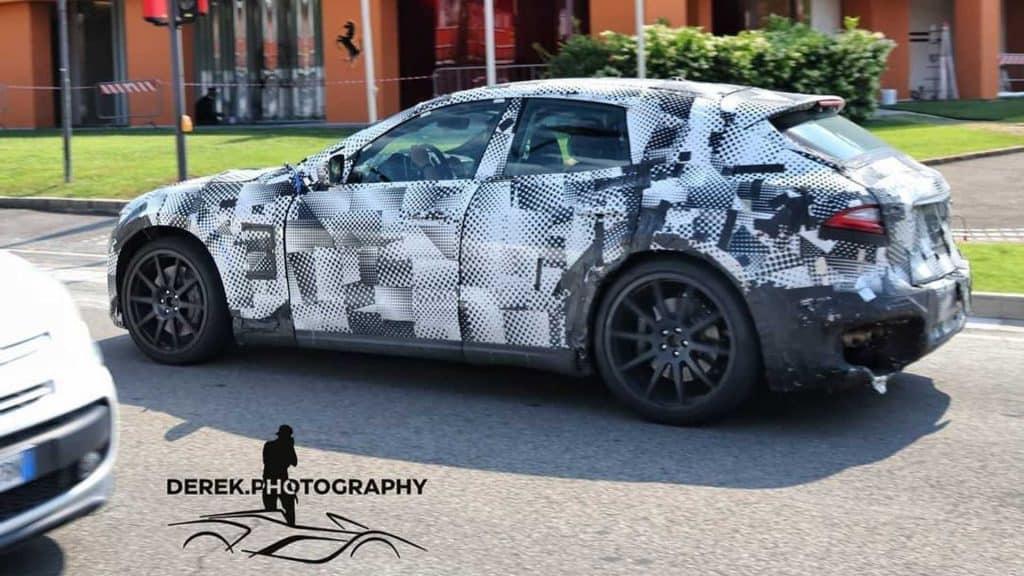 O primeiro SUV da montadora italiana será lançado em 2022. Imagem: derek.photography / Instagram/Reprodução