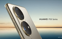 Huawei divulga teaser da série de smartphones P50