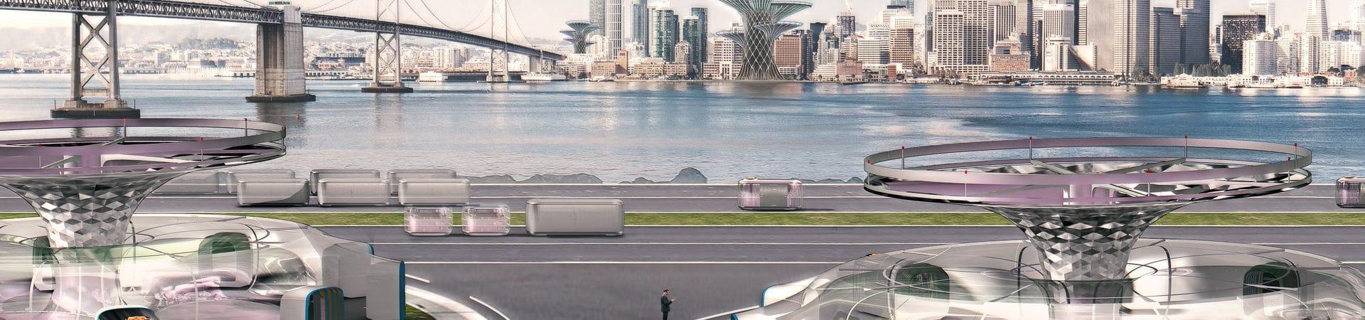 Carros voadores existirão em 2030, afirma chefe da Hyundai. Imagem: Carscoops/Reprodução