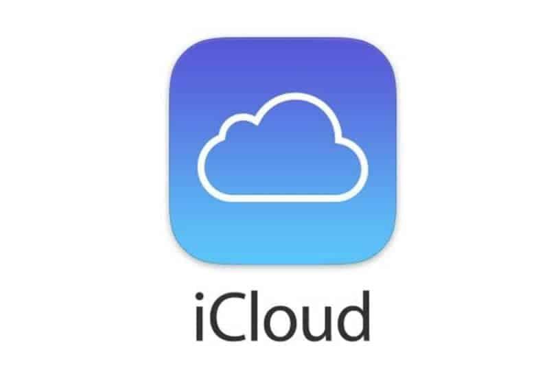 Logomarca do iCloud, o painel de controle de dispositivos da Apple, disponibilizado para a segurança de seu usuário