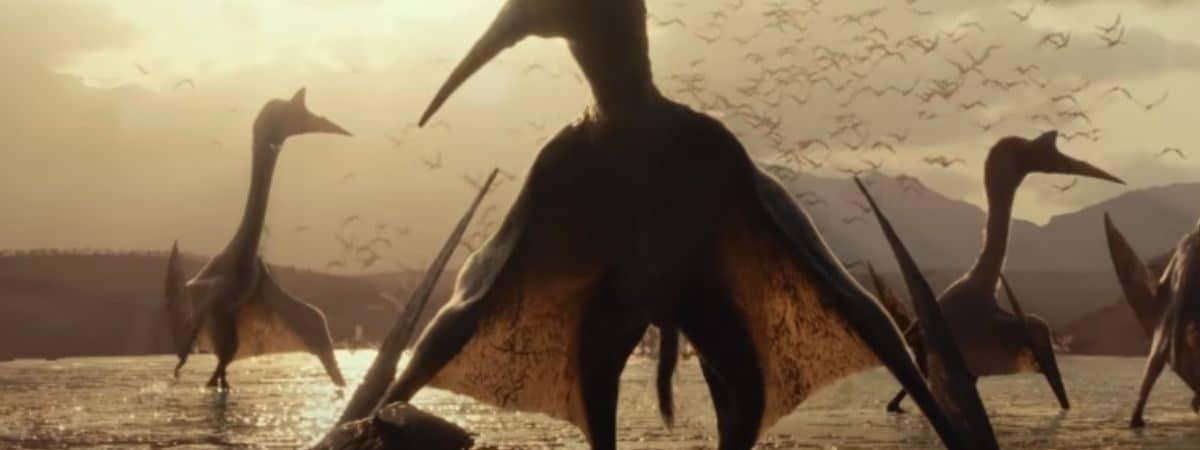 Espécies entram em confronto no primeiro teaser de 'Jurassic World 3: Dominion'. Imagem: Universal Pictures/Reprodução