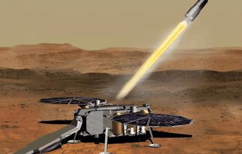 Mars Ascent ganha forma para missão de retorno de amostras de Marte