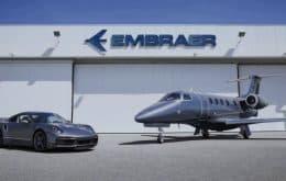 Para poucos: parceria entre Embraer e Porsche rende dupla vendida a US$ 10,9 milhões