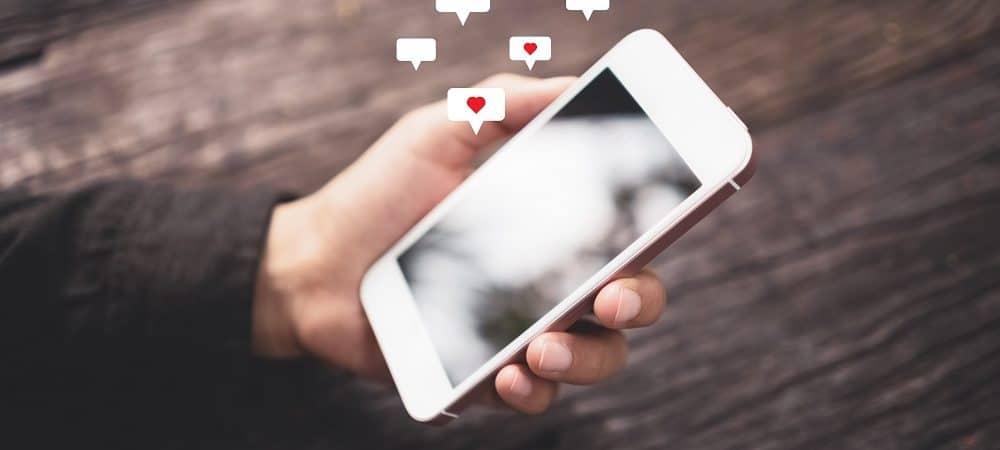 Mídias sociais. Imagem: Shutterstock