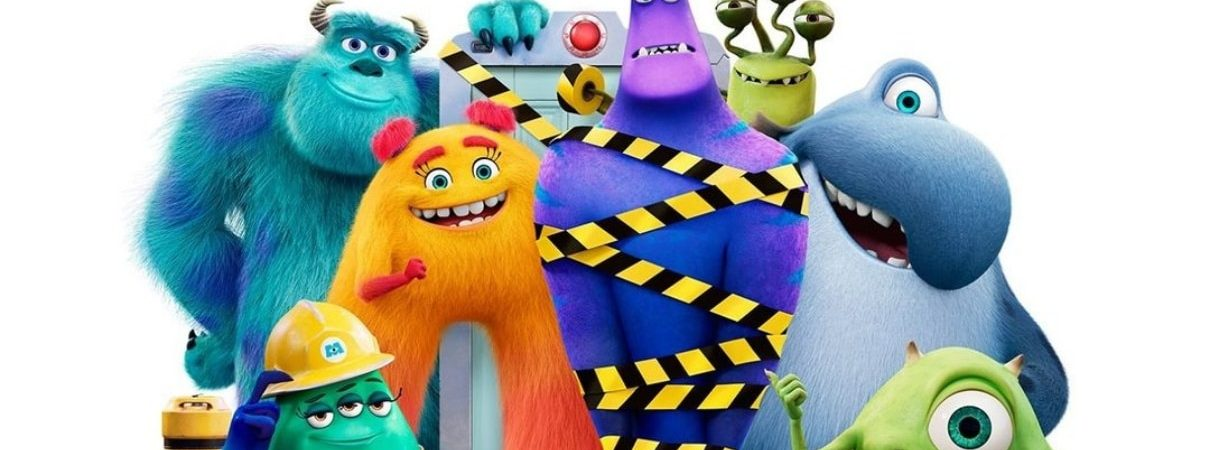 'Monstros no Trabalho': continuação de 'Montros S.A.' ganha pôster e trailer em português. Imagem: Disney+/Divulgação