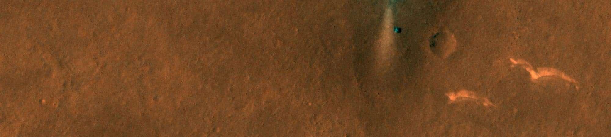NASA capta imagens do rover chinês Zhurong em Marte