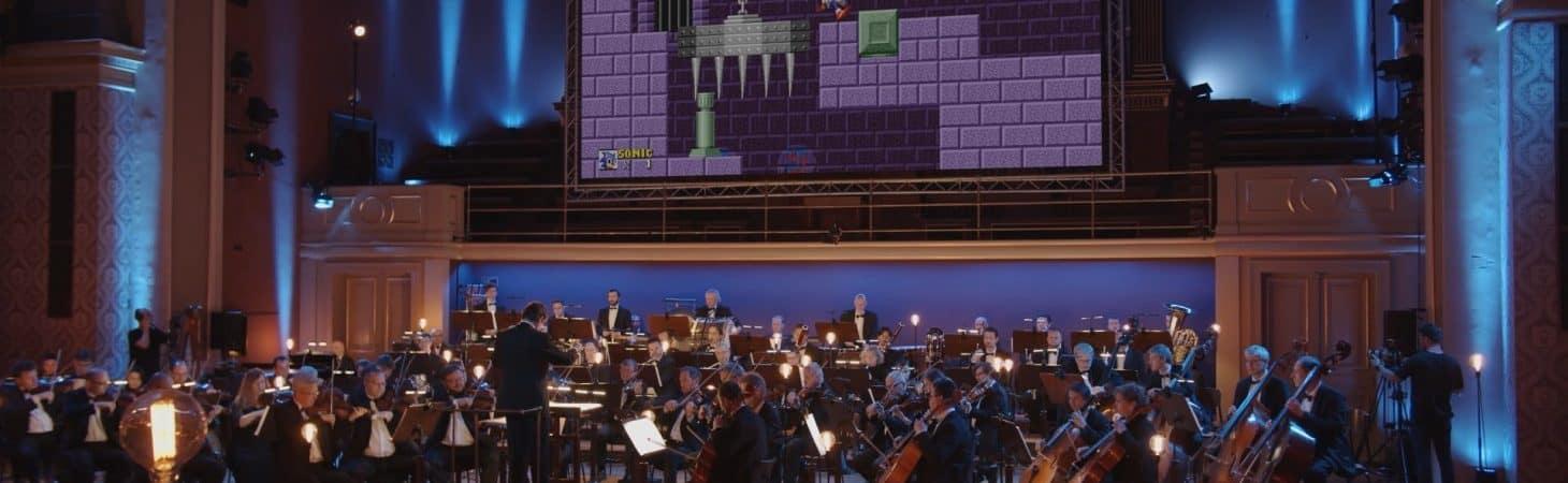 'Sonic' ganha concerto especial em comemoração aos 30 anos da franquia. Imagem: Youtube/Reprodução