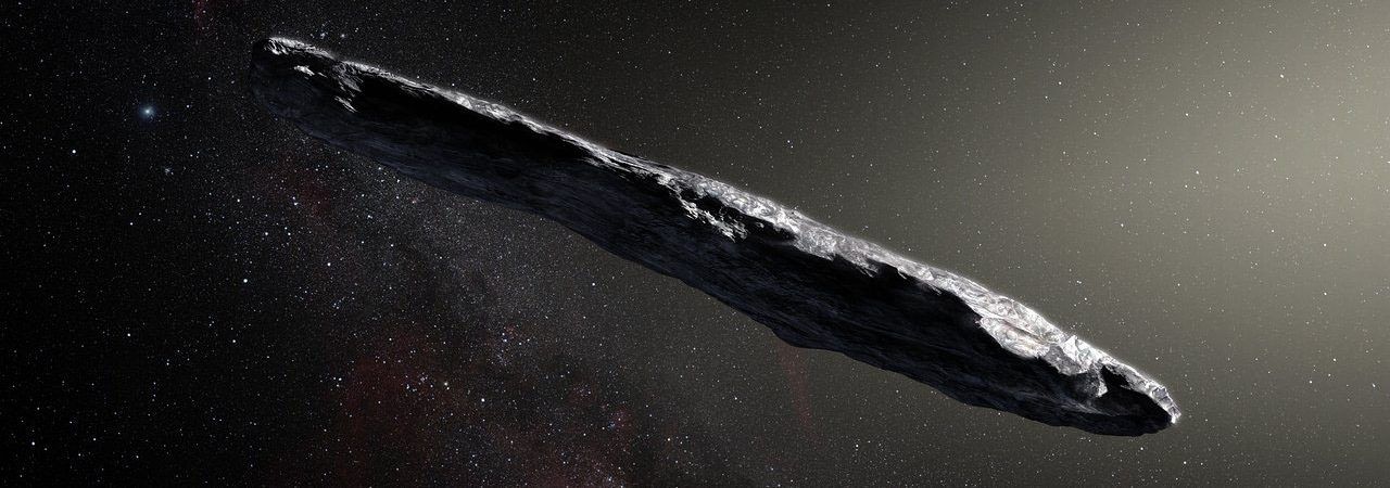 oumuamua impressão artística