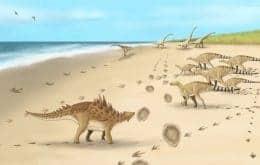Pesquisadores encontram pegadas dos últimos dinossauros que andaram sobre o solo do Reino Unido