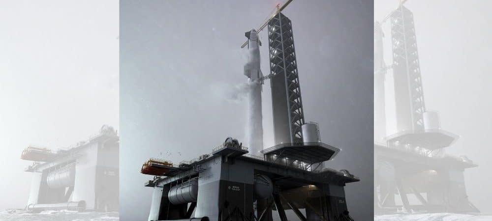 plataforma, spacex