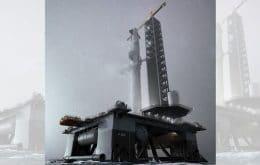 Foguetes da SpaceX serão lançados de plataformas flutuantes em 2022