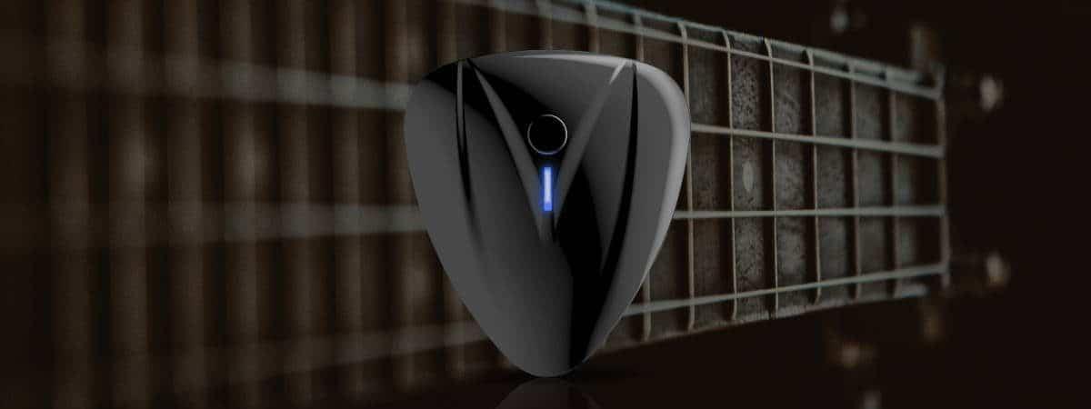 PocketGuitar: guitarra virtual usa IA para produzir som real. Imagem: AeroBand