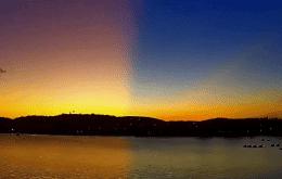 Cielo multicolor: fenómeno atmosférico transforma el atardecer en Búzios, RJ