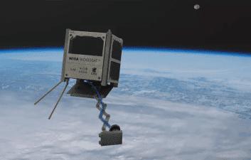 Primeiro satélite do mundo construído com madeira vai ao espaço
