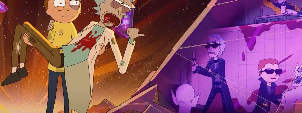 'Rick and Morty': assista ao primeiro episódio da 5ª temporada. Imagem: Adult Swim/Reprodução