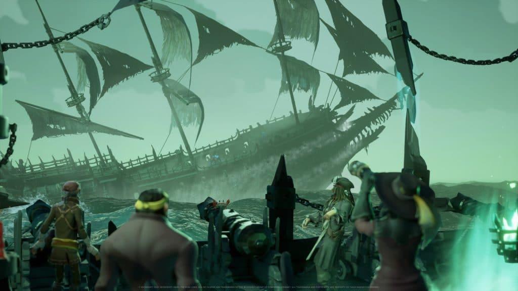 Novos inimigos chegam em 'Sea of Thieves: Uma Vida de Pirata' na Temporada Três, com o capitão Jack Sparrow