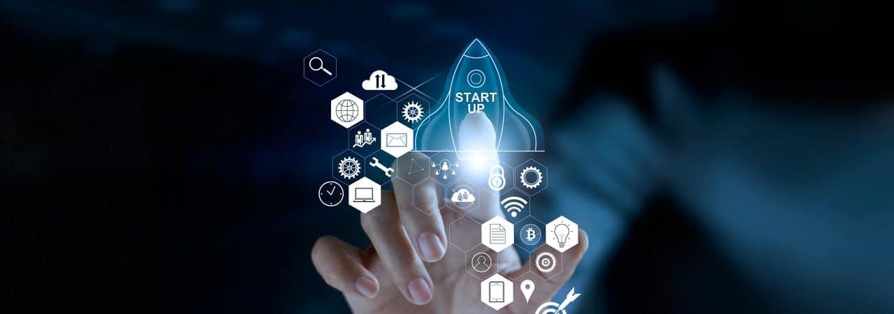 Ilustração de startup
