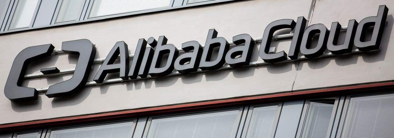 Fachada do Alibaba Cloud