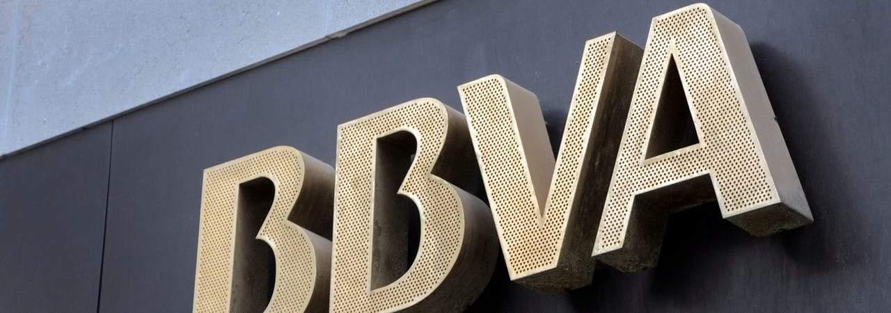 Fachada do banco espanhol BBVA