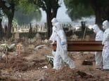 Covid-19: Brasil tem 643 mortes nas últimas 24 horas; total ultrapassa 589 mil