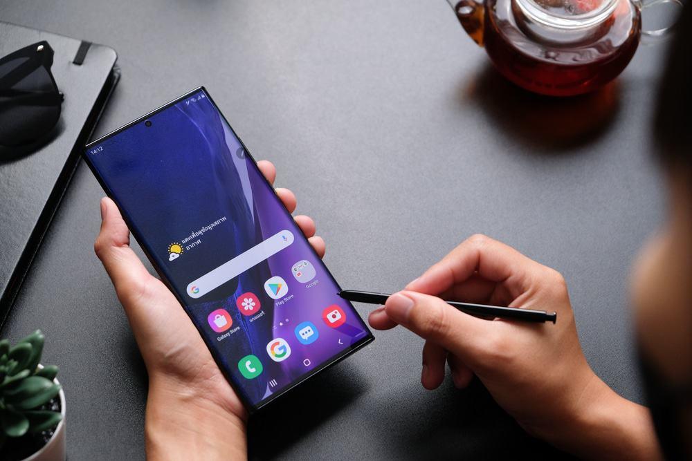 Samsung Galaxy Note 20 'Enterprise Edition' vai receber cinco anos de atualizações.