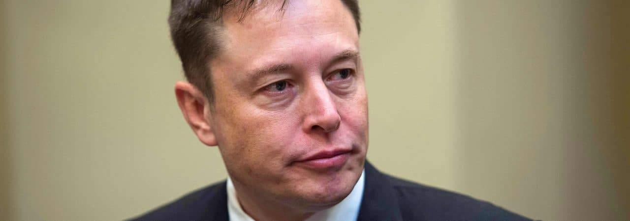 Foto do bilionário Elon Musk