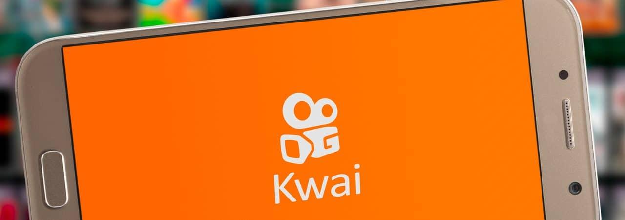 Kwai app open on smartphone