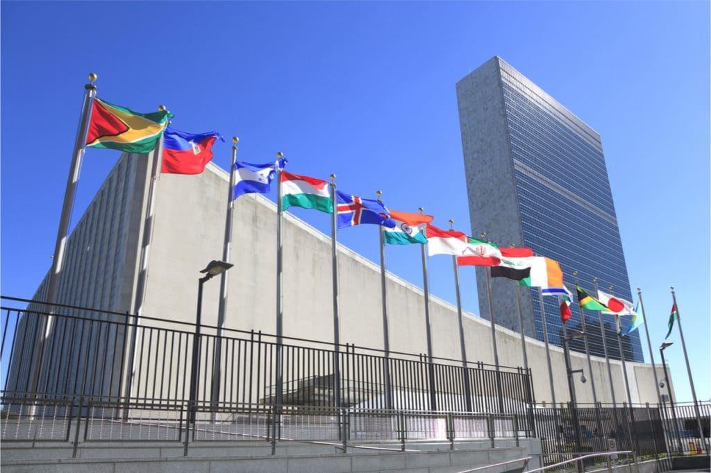 """Imagem mostra a sede da ONU, que disse que precisamos """"de uma China"""" de espaço para reflorestar a Terra"""