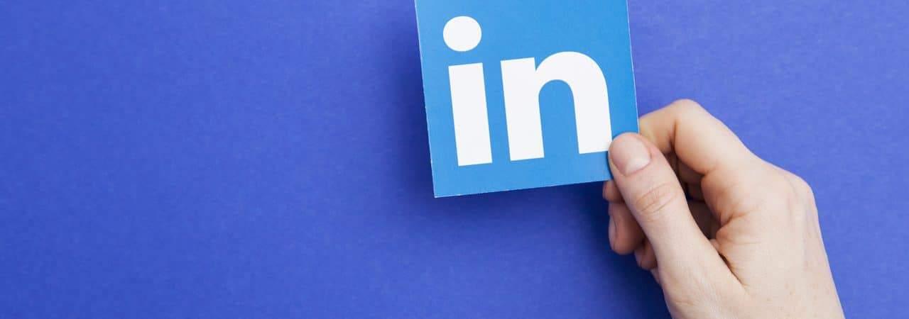 Logo da rede social LinkedIn