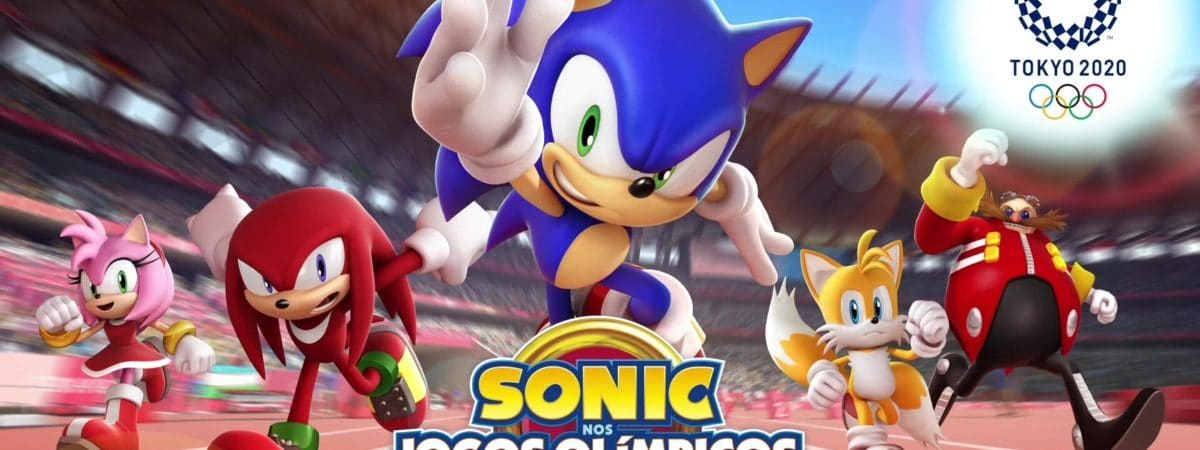 Capa do jogo Sonic nos Jogos Olímpicos