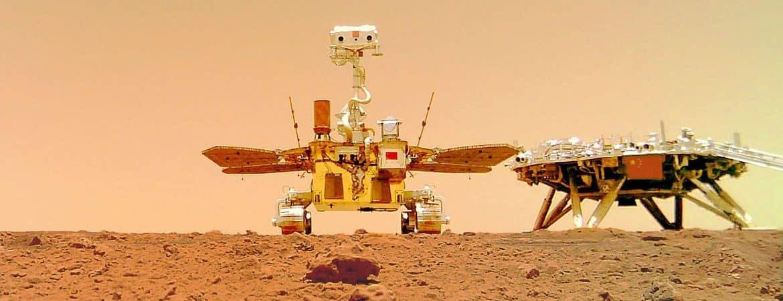 China manda um jipe robótico a Marte