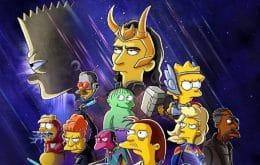 Disney+ apresenta Loki a Bart em um curta animado de 'Os Simpsons'