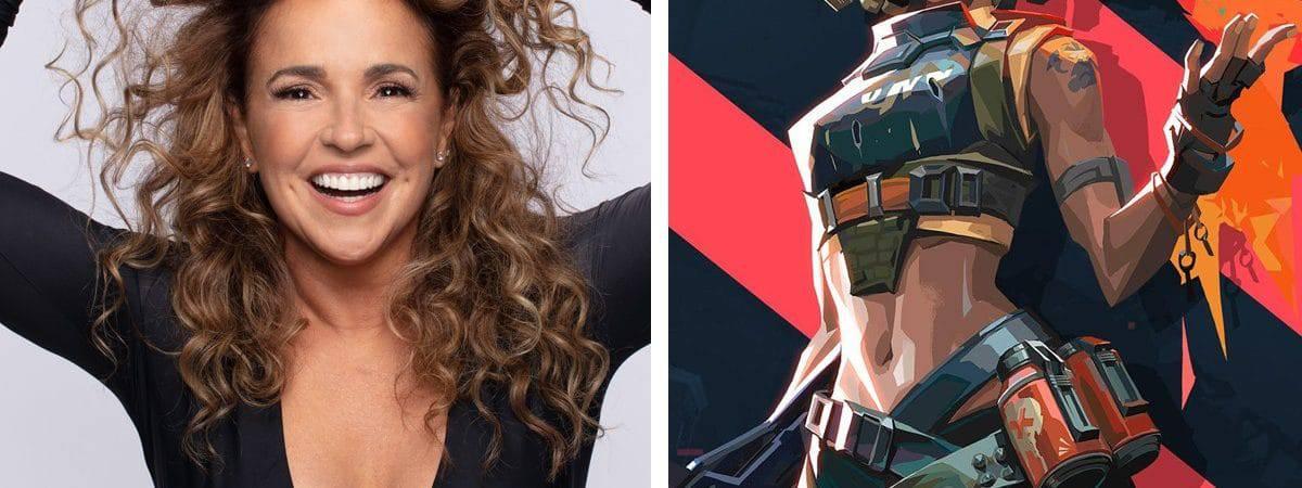 Daniela Mercury regrava 'O Canto da Cidade' para Valorant
