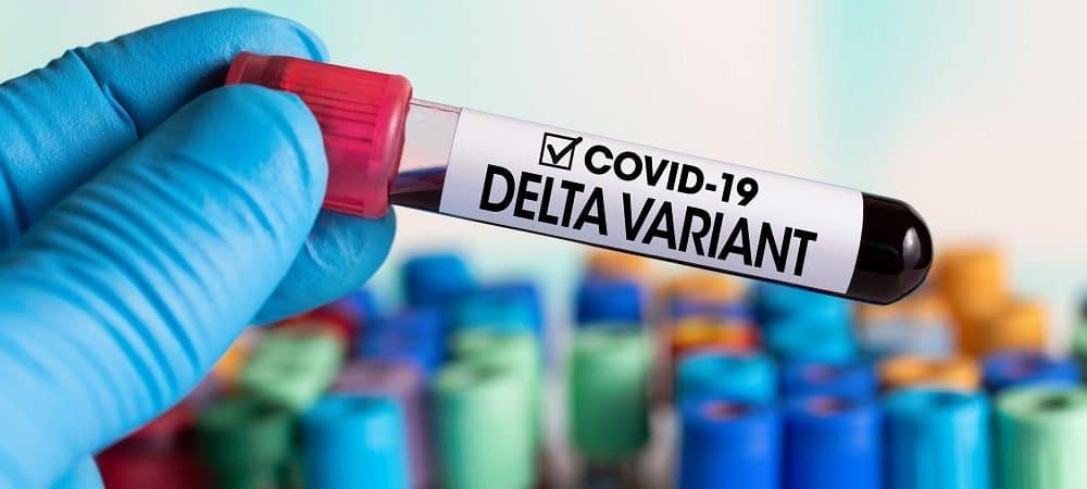 Variante Delta. Imagem: Shutterstock