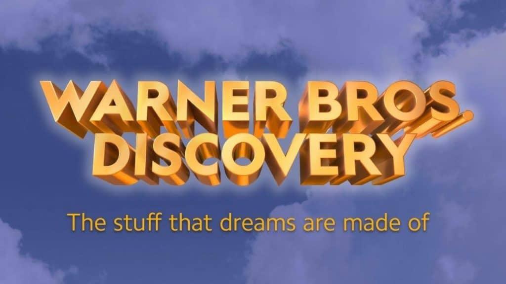 """Logotipo da Warner Bros. Discovery traz o slogan """"The Stuff That Dreams Are Made"""""""