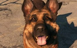'Fallout 4': morre River, pastor-alemão que foi modelo para Dogmeat no jogo