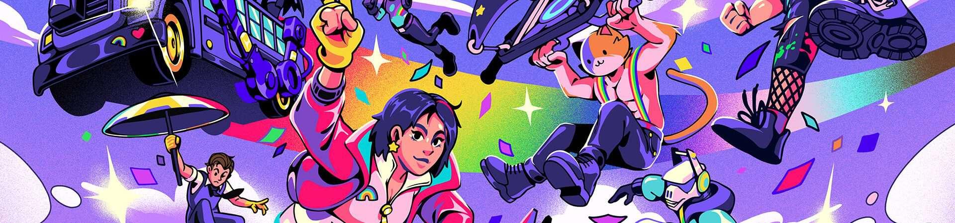 Orgullo real: 'Fortnite' lanza el evento LGBTQIA + con artículos gratuitos; sepa mas. Imagen: Epic Games / Disclosure