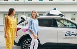 Carros autônomos da Ford estarão disponíveis para viagens com o app da Lyft