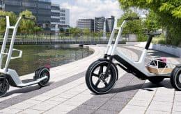 """BMW apresenta patinete e triciclo elétrico como """"soluções para o transporte urbano"""""""