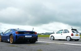 Powered Corsa wins Ferrari 488 Track in speed challenge; see video