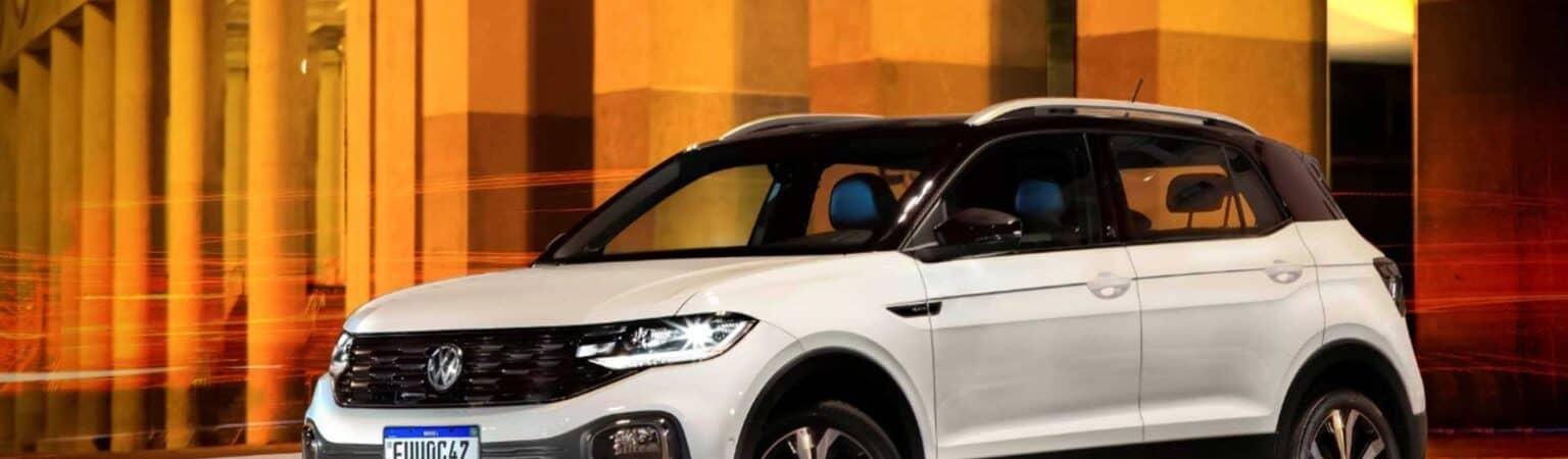 VW T-Cross: o carro que ficou mais caro no Brasil em junho, segundo pesquisa. Imagem: Divulgação/Volkswagen