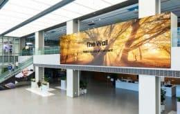 """Samsung lança nova versão do """"The Wall"""", seu display de mil polegadas"""