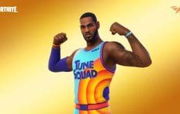 """""""O Rei chegou!"""": LeBron James é o novo skin do game Fortnite"""