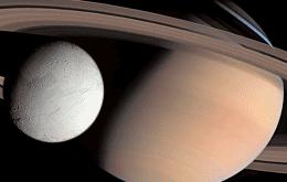 Metano identificado em lua de Saturno pode ser indício de vida