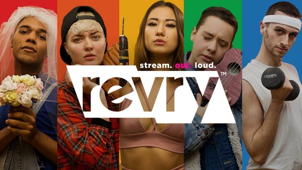 Revry Brasil foi adicionada ao streaming Samsung TV Plus. Imagem: Divulgação